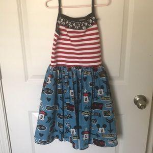 Other - New Custom Retro Mickey Minnie Disney Tank Dress